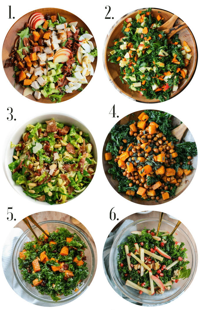 Healthy Gluten Free Thanksgiving Recipes: Salads