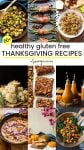 healthy gluten free thanksgiving recipes pinterest collage