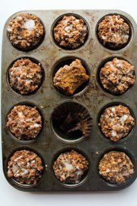 Pumpkin & Gingebead Crumb Muffins