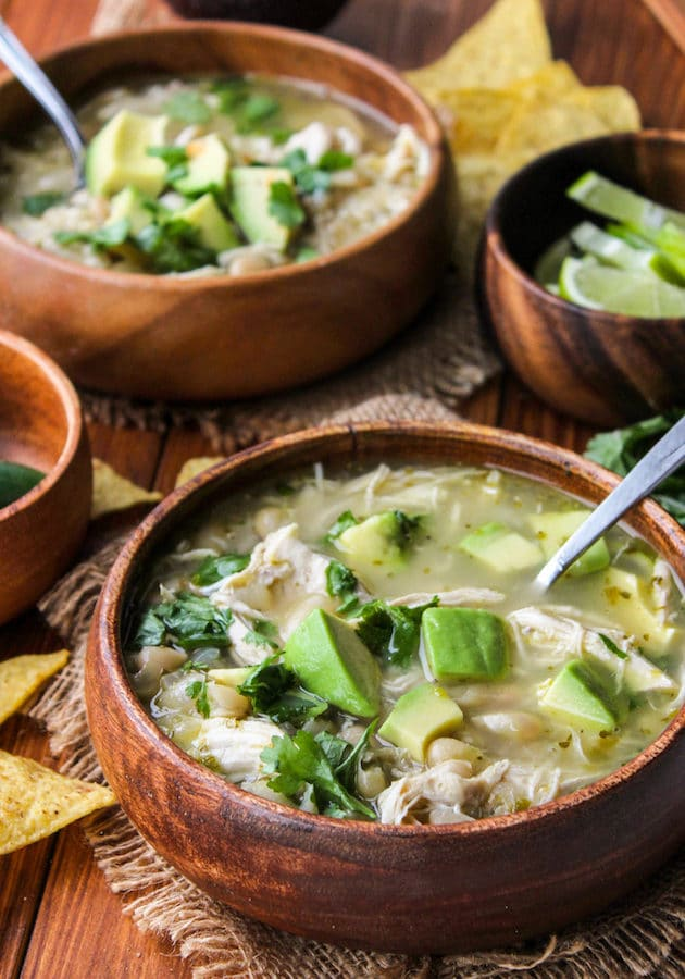 White Bean Chicken Chili Soup (Instant Pot)