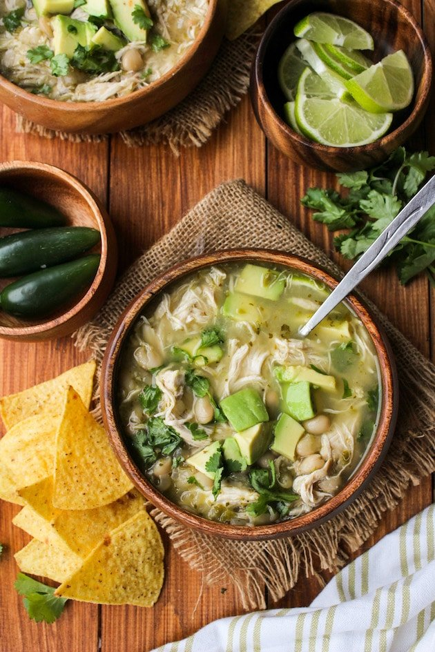 White Bean Chicken Chili Soup made in the Instant Pot | Minimal effort & minimal clean up needed for a comforting and satisfying dinner | Gluten Free + Dairy Free + Grain Free