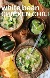 White Bean Chicken Chili Soup