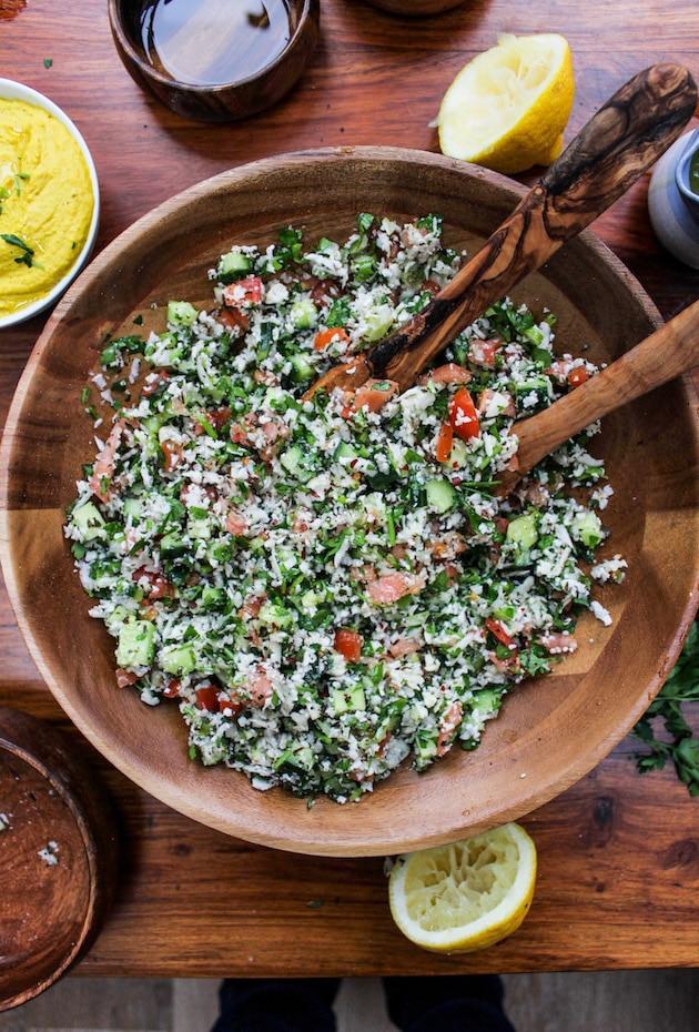 Paleo Cauliflower Tabbouleh