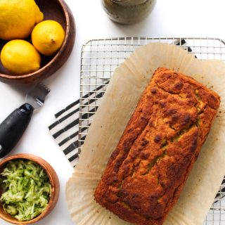 Paleo Lemon and Olive Oil Bread