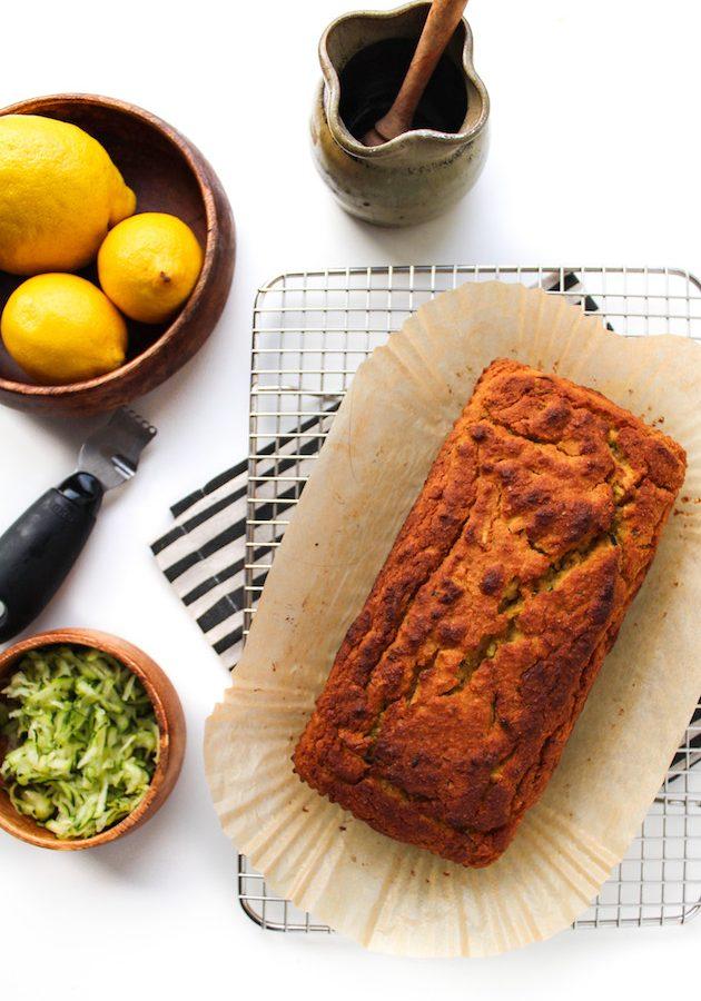 Paleo Lemon Olive Oil Cake