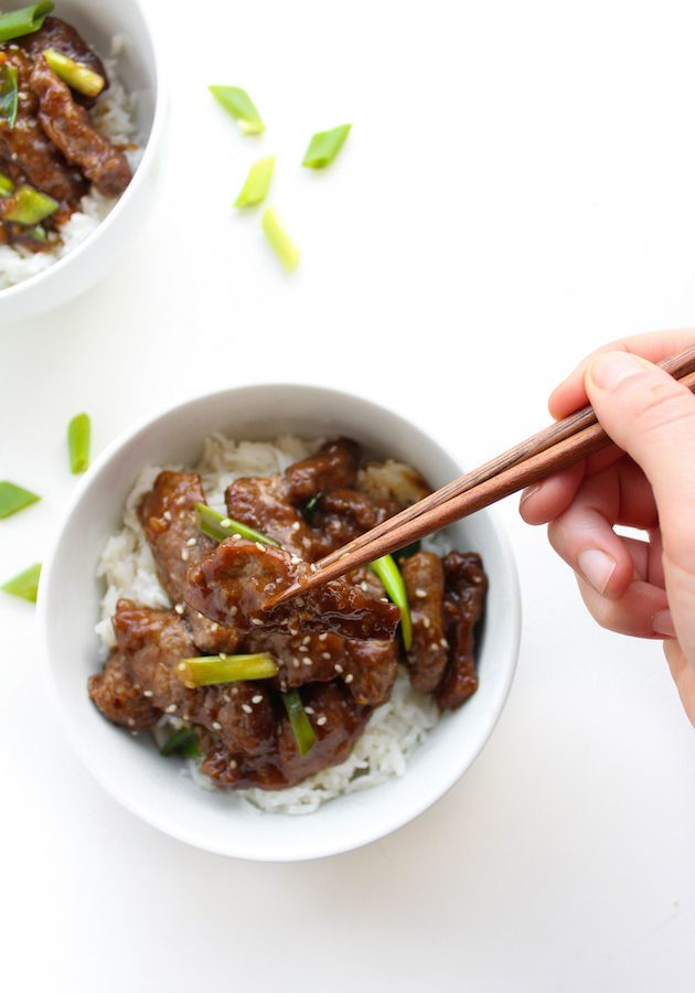 Paleo Mongolian Beef (Whole30 Compliant)