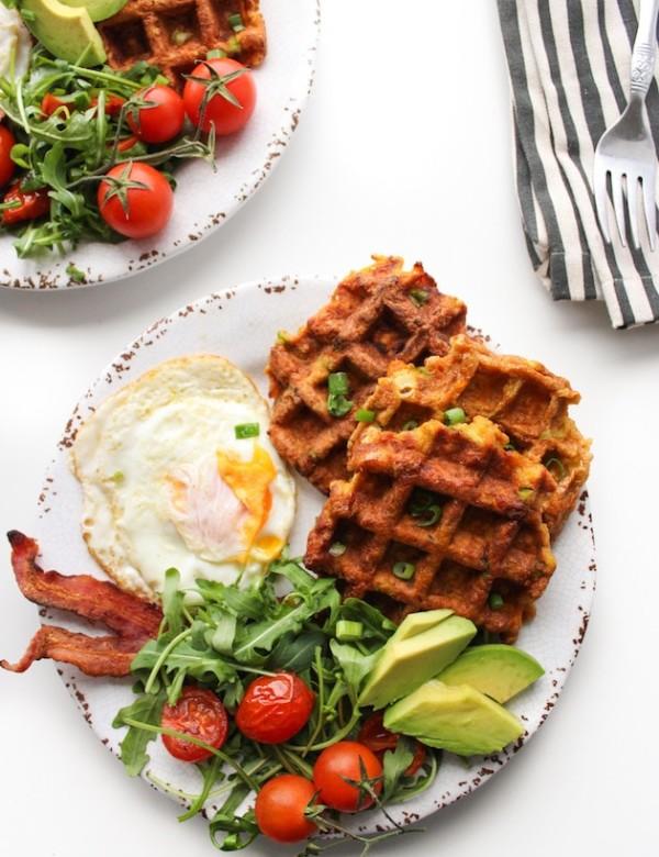 Paleo Sweet Potato Waffles-2