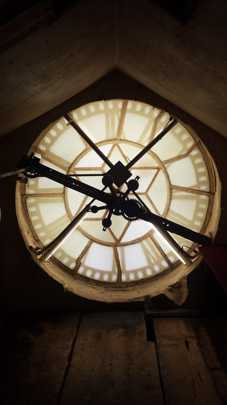 Bath Abbey Clock
