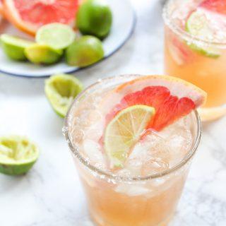 Ginger Beer Paloma Cocktails