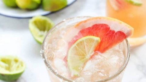 Ginger Beer Paloma Cocktails