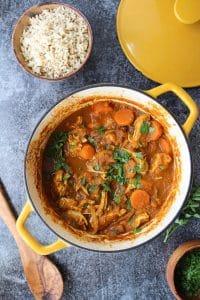 One Pot Moroccan Chicken Stew