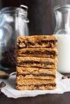 Peanut Butter Chocolate Oat Bars