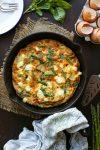 Potato & Asparagus Frittata