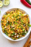 Southwest Avocado Quinoa Corn Salad
