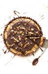 Frozen Gluten Free + Vegan Peanut Butter Cup Pie