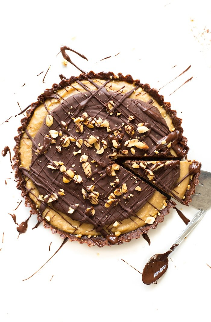 Frozen Peanut Butter Cup Pie