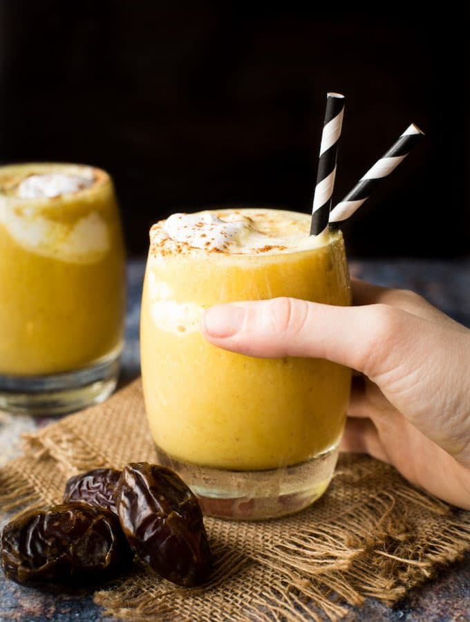 Golden Milk Frappuccino – Paleo & Vegan