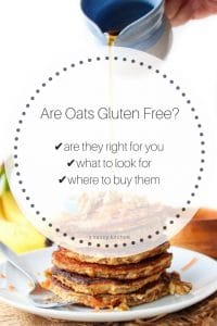 Are Oats Gluten Free pin graphic