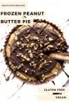 Frozen Peanut Butter Pie pin graphic