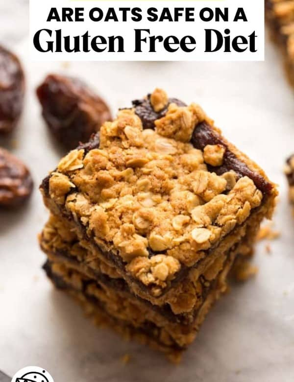 OATS AND GLUTEN FREE LIVING PIN GRAPHIC