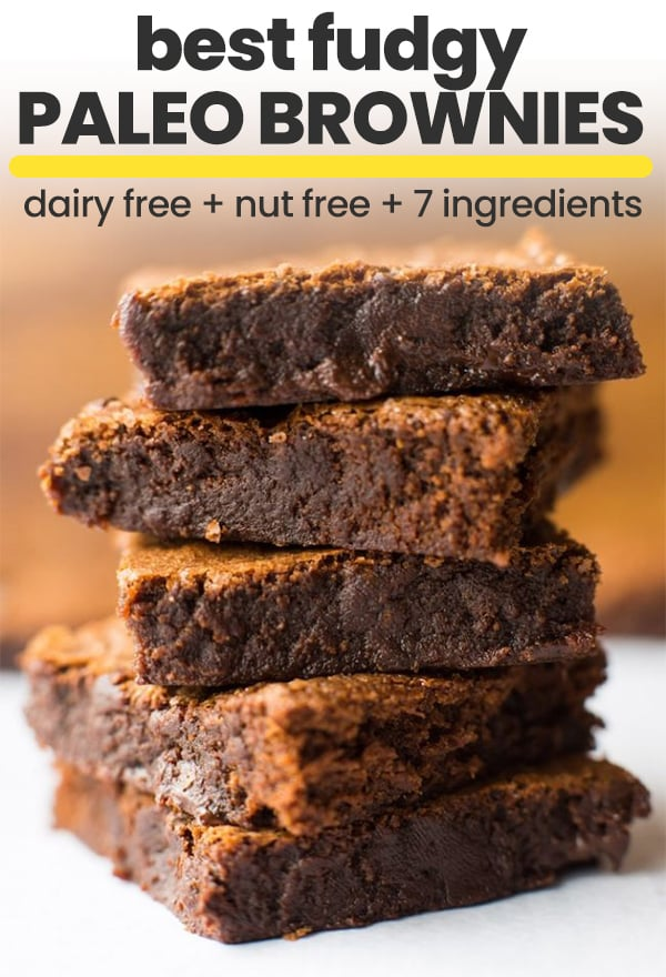 paleo brownies pin graphic