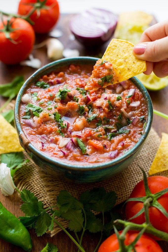 Image result for mango salsa photo