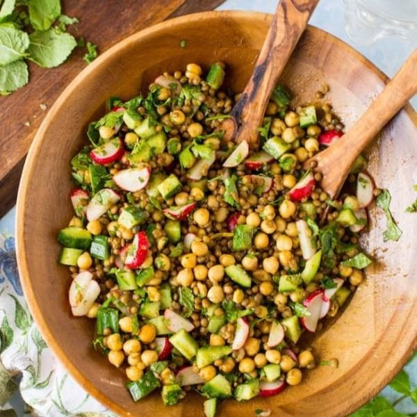 Herb & Lentil Salad