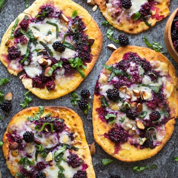Blackberry Flatbread Pizza