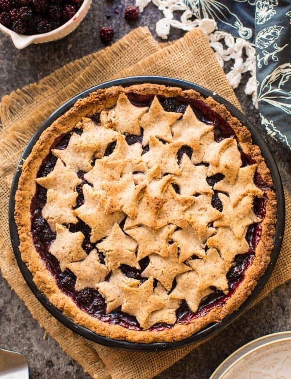 Grain Free Blackberry Pie