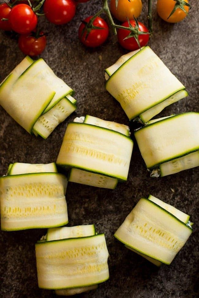 Zucchini Ravioli - A Saucy Kitchen