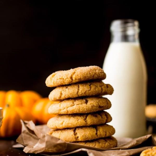 Chai Spiced Pumpkin Snickerdoodles