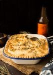 Healthier Gluten Free Chicken Pot Pie with an Herb Crust