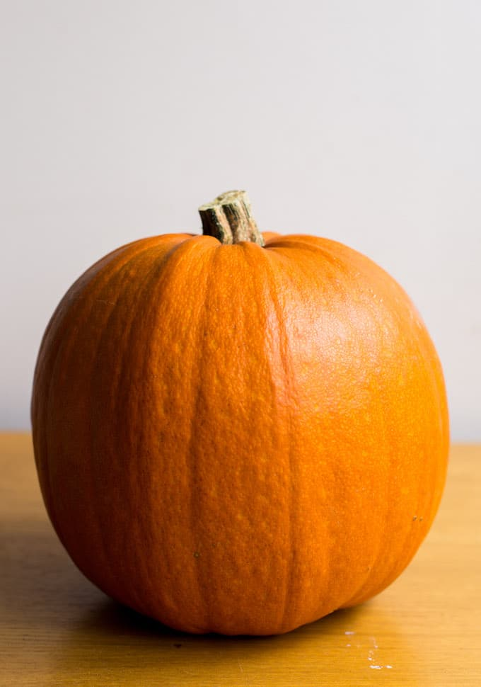 How to Make Pumpkin Puree from fresh pumpkins