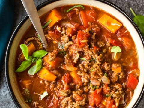 Italian Style Instant Pot Beef Chili Bean Free A Saucy Kitchen
