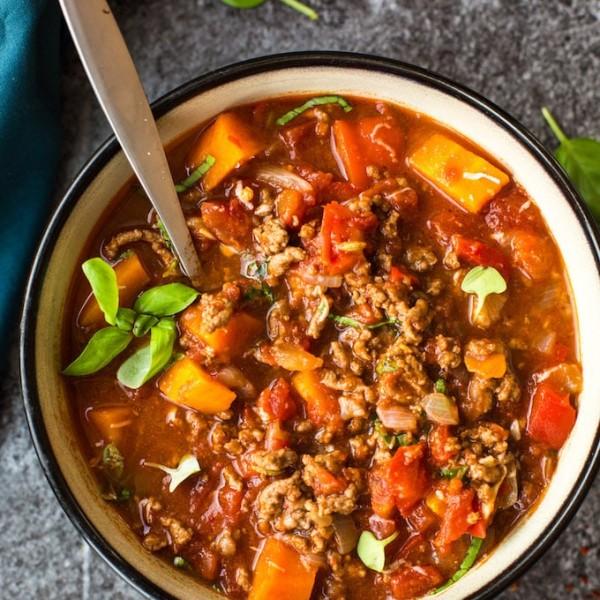 Italian Style Instant Pot Beef Chilli