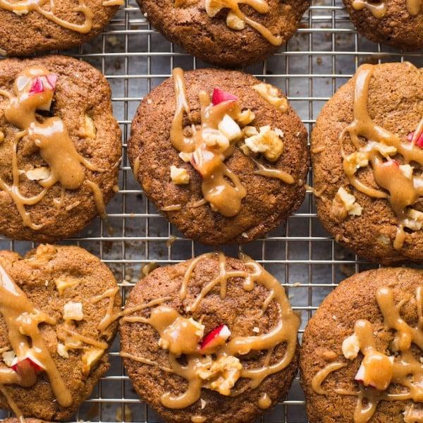 Paleo Cinnamon Apple Cookies