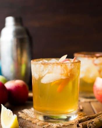 Star Anise Spiced Apple Margaritas