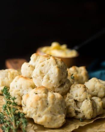 Herby Vegan Gluten Free Biscuits