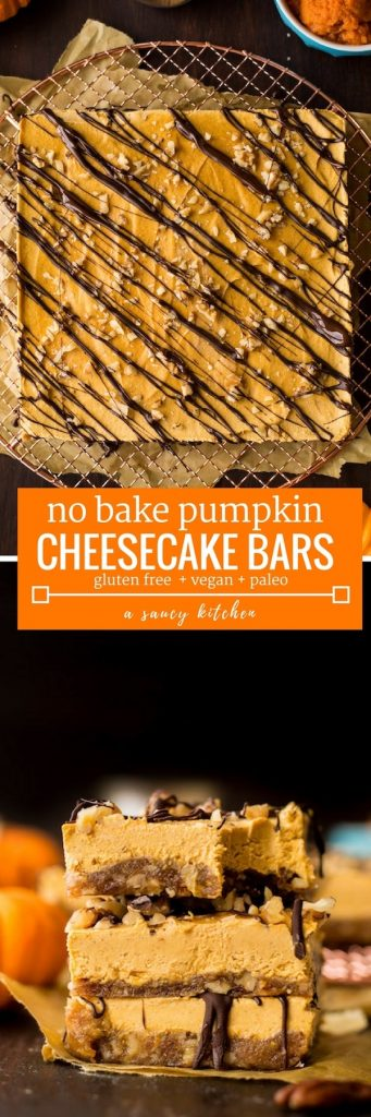 Pumpkin cheesecake pin graphic