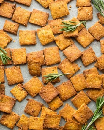 Sweet Potato Paleo Crackers