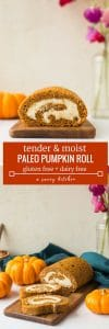 paleo pumpkin roll pin