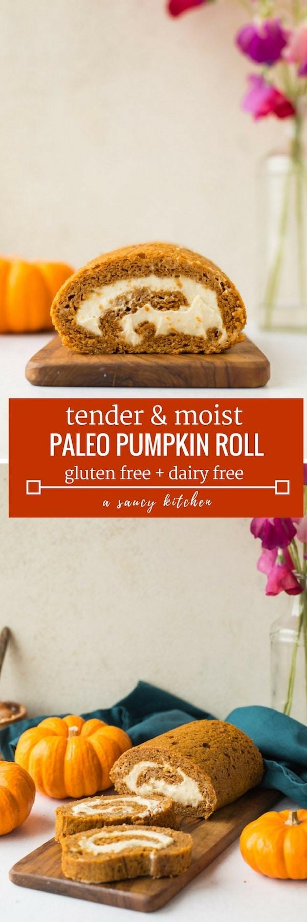 paleo pumpkin roll pin