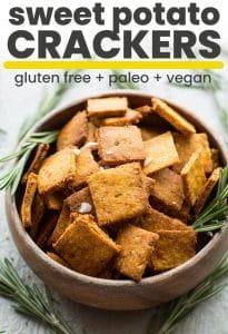 sweet potato crackers pin graphic