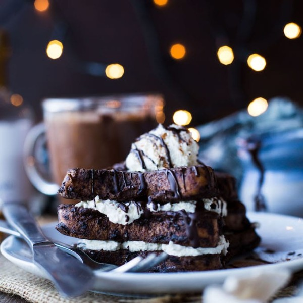 Dairy Free Hot Chocolate French Toast