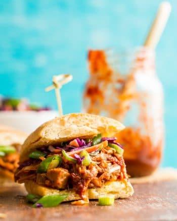 Vegan BBQ Jackfruit Pulled 'Pork' Sandwiches