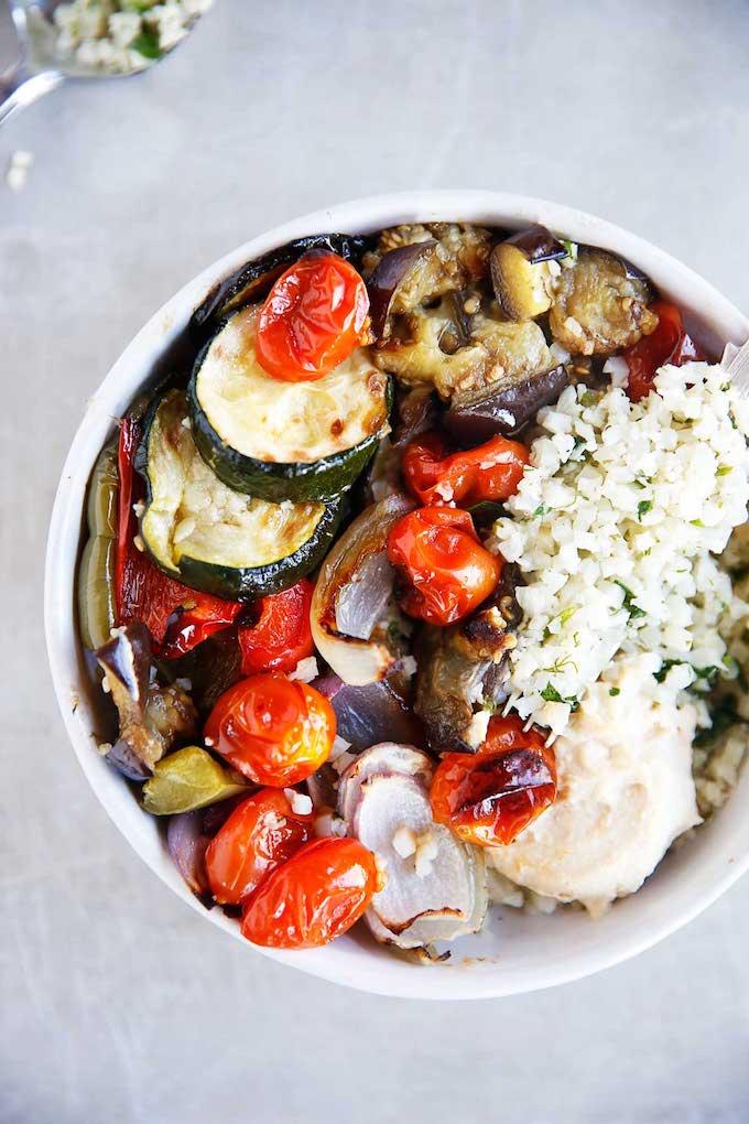 Lexi's Clean Kitchen Greek Veggie Bowls
