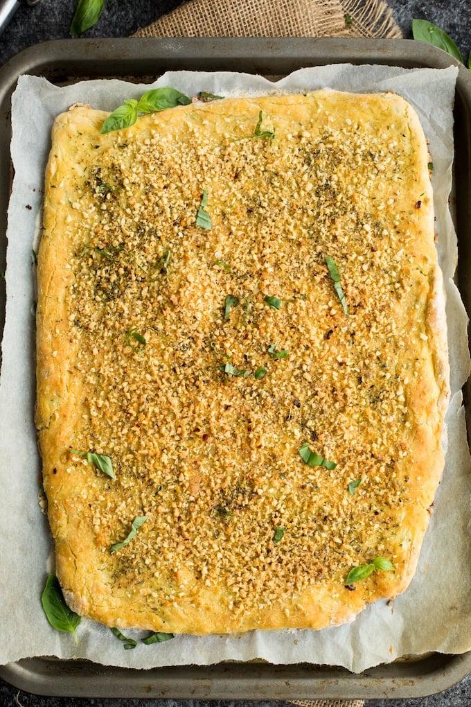 Gluten Free Breadsticks with Zucchini