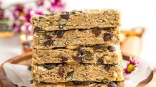 Peanut Butter No Bake Granola Bars