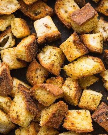 Gluten Free Croutons – 2 Ways