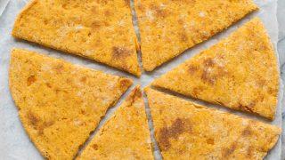 Sweet Potato Pizza Crust - Paleo + Vegan